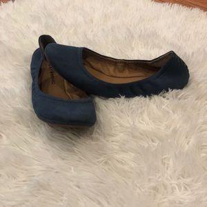Blue Lucky Brand ballet flats size 7.5